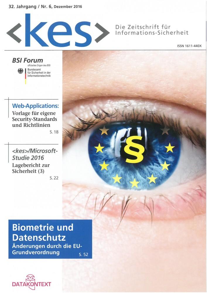 Cover Nr. 6, Dezember 2016