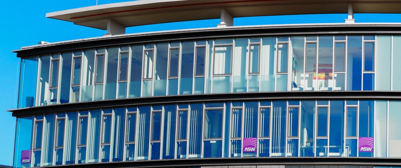 Außenansicht des ASW-BW Büros