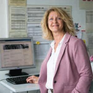 Mitarbeiterin Sigrid Wahler