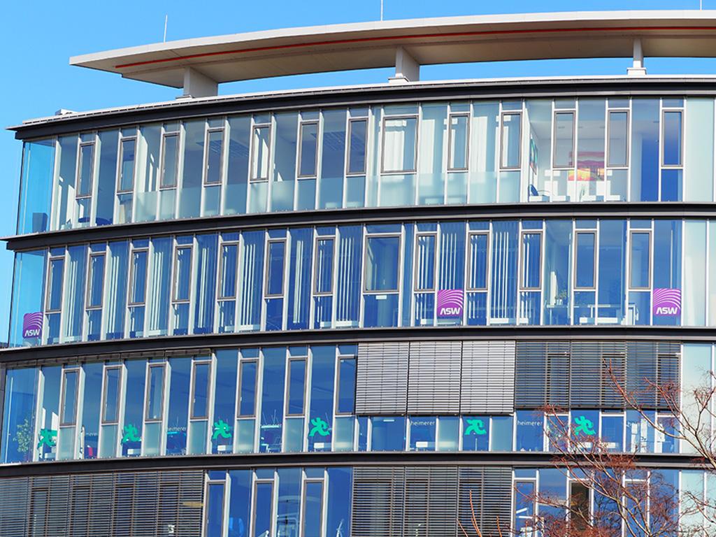 Gebäude der ASW-BW