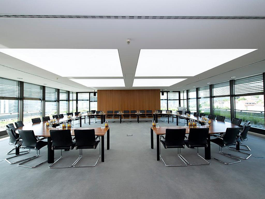 Seminarraum des GENO-Haus in Stuttgart